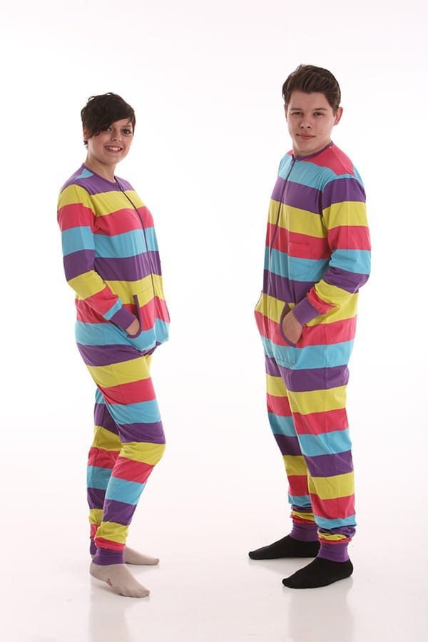 Fun With Adult Footed Pajamas  c2b33fe9d
