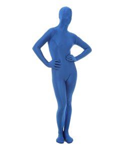 Blue Funskin - Spandex Full Bodysuit