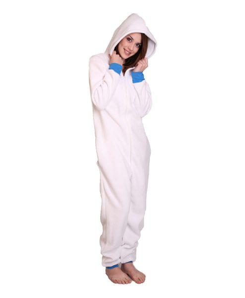 Polar Unfooted Adult Onesie