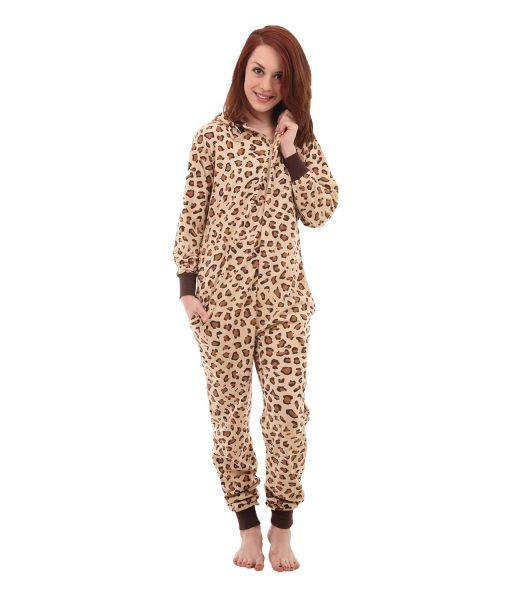 Wild Unfooted Adult Onesie