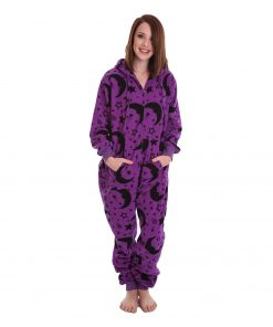 Wizard Unfooted Adult Onesie
