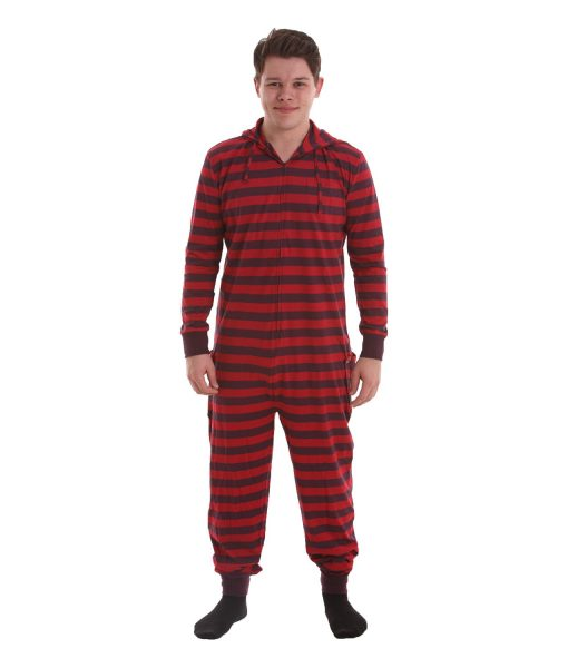 Retro Butt Flap Adult Onesie