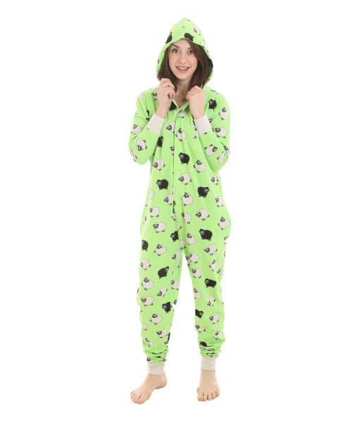 The stitch pajama is very cute and soft. It is comfortable to wear and especially suitable for winter because it is warm. The only two caveats of the pajama is when I go to bathroom, it takes more time (more convenient for guys but not girls).