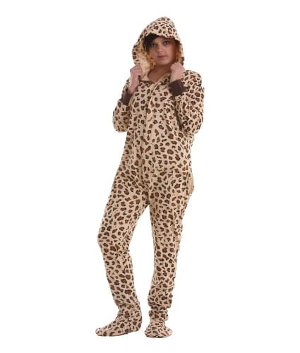 Wild Footed Pajama Suit