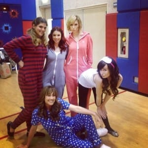 Cast of Awkward TV Show in Onesies