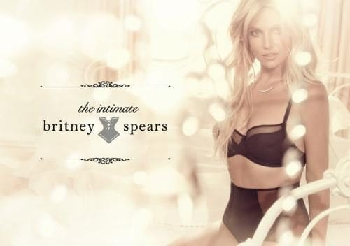 Britney Spears in launch of Intimates