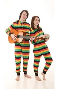 Reggae Funzee - Hooded Adult Onesie