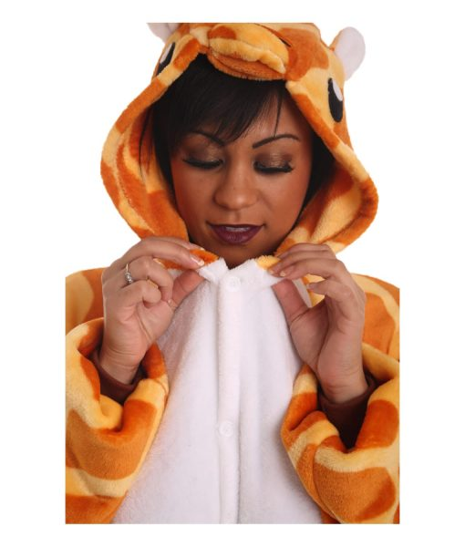 Giraffe Animal Adult Onesie