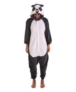Lemur Animal Adult Onesie