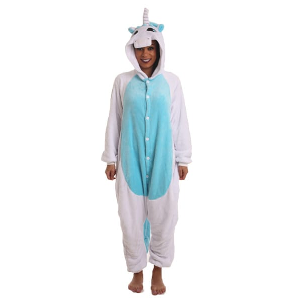 Funzoo – Blue Unicorn Onesie Pajamas