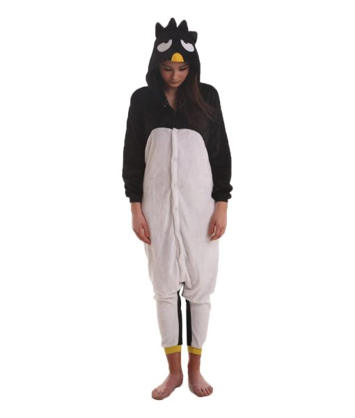 Black Angry Bird Animal Adult Onesie