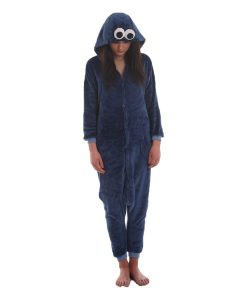 Cookie Monster Adult Onesie