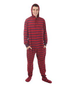 Retro Footed Pajama Suit
