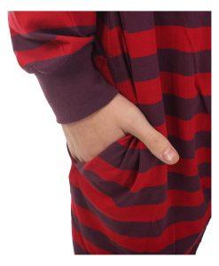 Retro Footed Pajama Suit