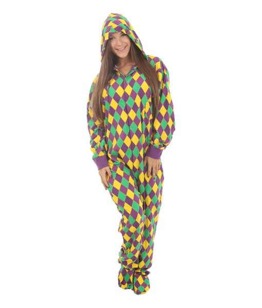 Harlequin Footed Adult Onesie
