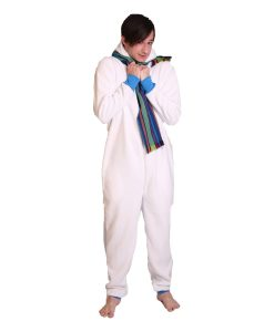 Polar Butt Flap Adult Onesie