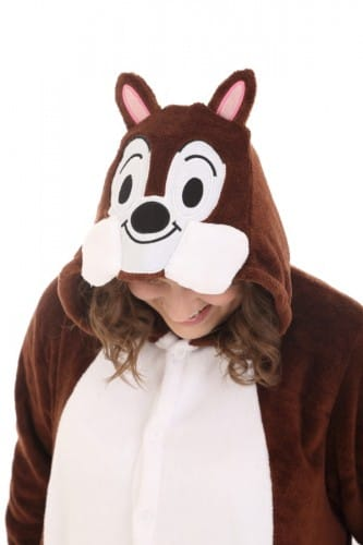 Chipmunk Animal Onesie Costume Pajamas