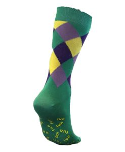Harlequin Stripy Socks