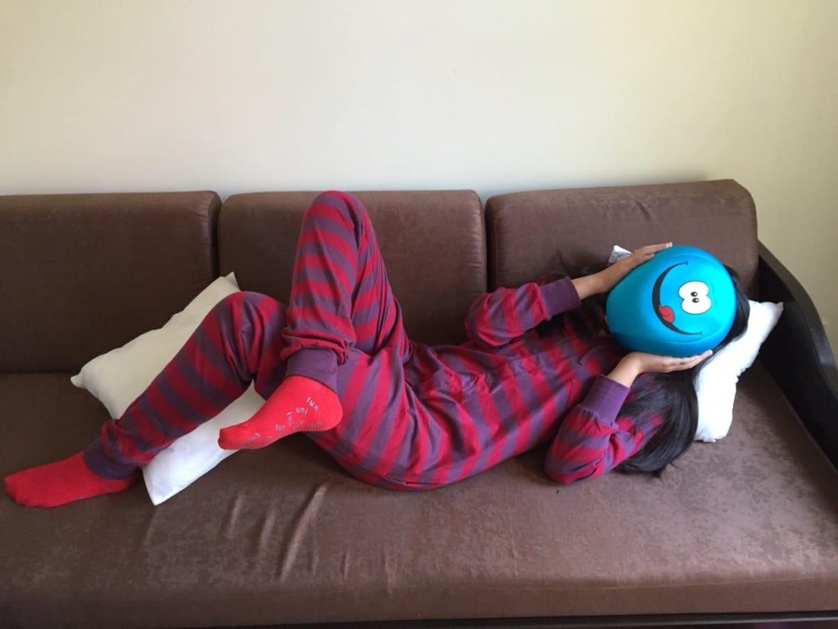 Retro funzee pajamas for a Cozy Fall