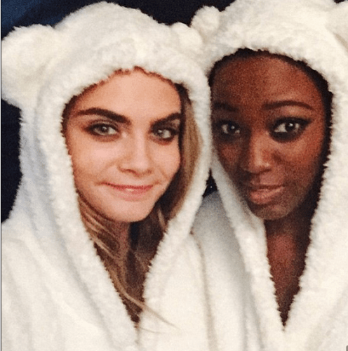 Celebrity selfies mean more of pajamas in 2016