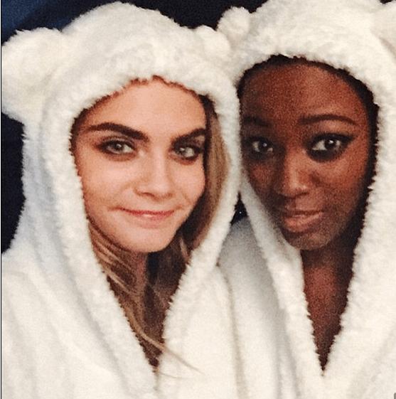 Celebrity selfies mean more of pajamas in 2016