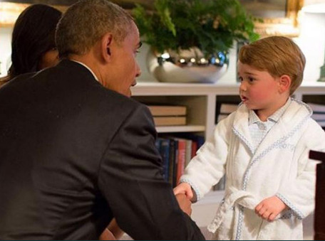 Wear Pajamas to meet a president