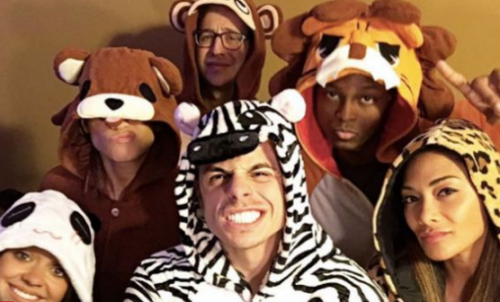 Celebrity Animal Onesie Fans