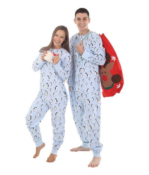 Seasonal Sleepwear matching Zooland Adult Onesie