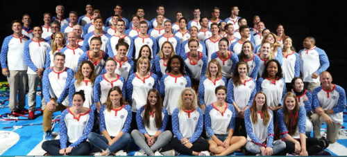 USA swimming team - pajamas for sport