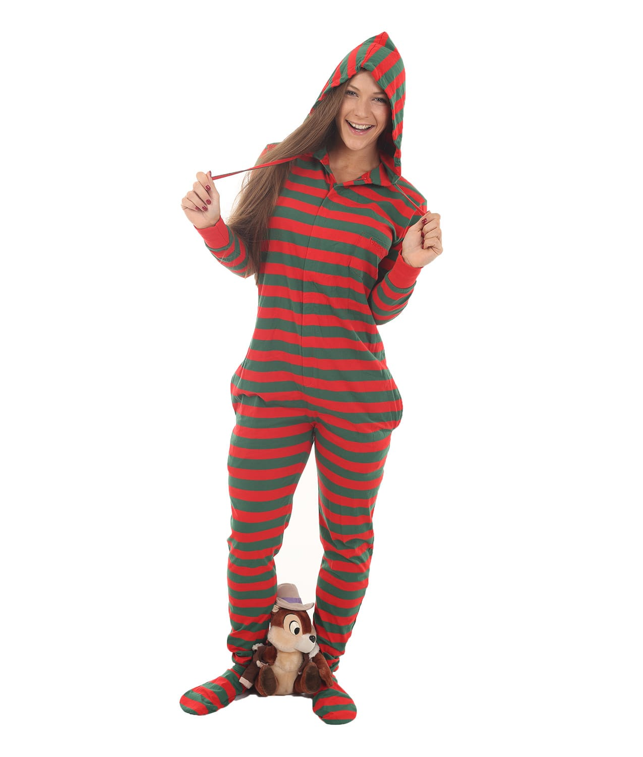 Elfie Unfooted Adult Onesie | Funzee