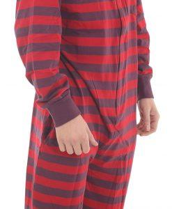 retro footed onesie pajamas