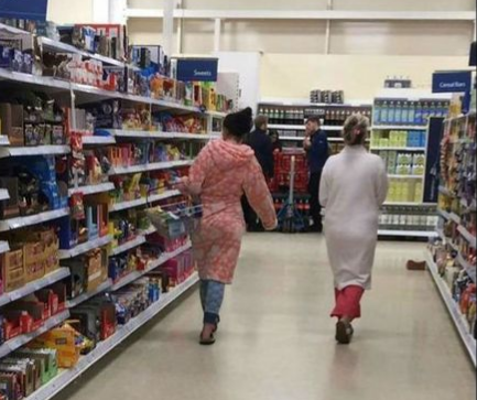 Sleepwear Nightmare in store