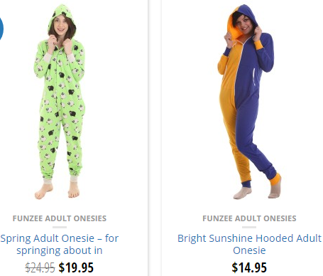 Why we sell adult onesies on Amazon